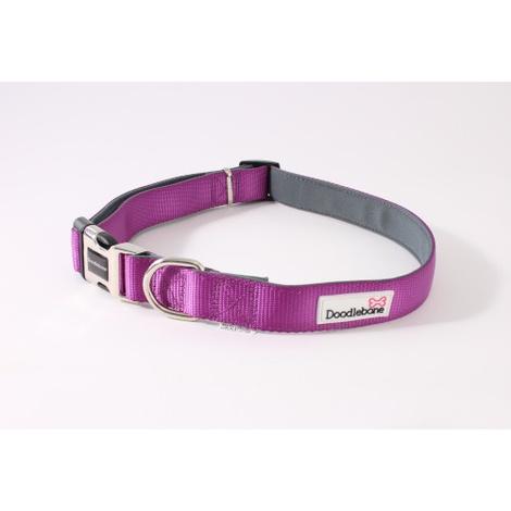 Bold Padded Collar - Purple