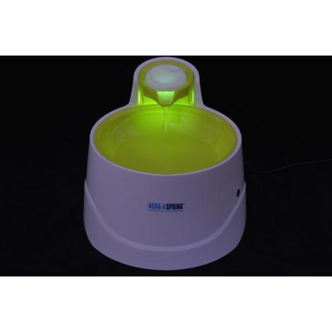 AquaSpring Illuminated Pet Water Fountain - Green 2