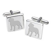WithLoveFrom - Cufflinks - Staffordshire Bull Terrier