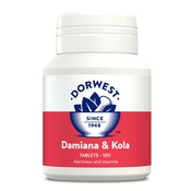 Dorwest Veterinary - Damiana & Kola Tablets for Dogs and Cats