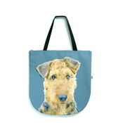 DekumDekum - Annabelle the Airedale Terrier Dog Bag