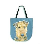 DekumDekum - Annabelle the Airedale Terrier Dog Bag