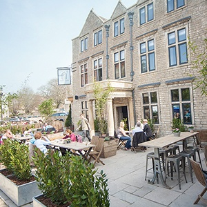 <strong>Timbrell's Yard, Wiltshire:</strong> A fabulous place to just eat, drink, walk and sleep with your hound in tow