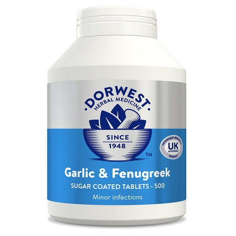 Garlic & Fenugreek Tablets for Dogs and Cats 3