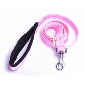 El Perro - Fleece Comfort Dog Lead – Baby Pink