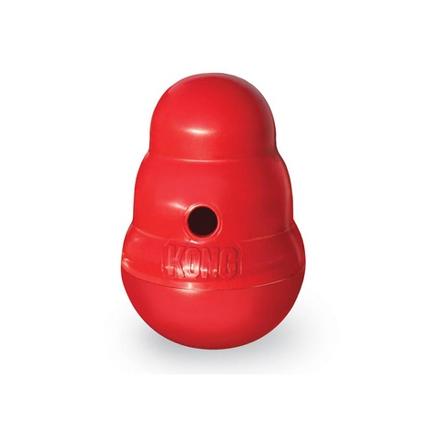 Kong Wobbler Rubber Toy – Red 2