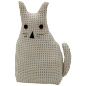 Raine & Humble - Morgan Wright Country Lace Cat Doorstopper Powder Blue
