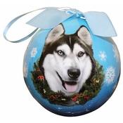 NFP - Siberian Husky Christmas Bauble