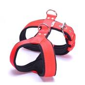El Perro - 2.5cm Width Fleece Comfort Dog Harness – Red