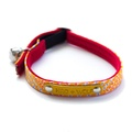 Sunset Red Cat Collar 2