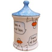 Laura Lee Designs - Ducks Sweet Jar