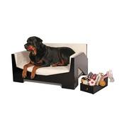 Katalin zu Windischgraetz - Retro Black Dog Sofa