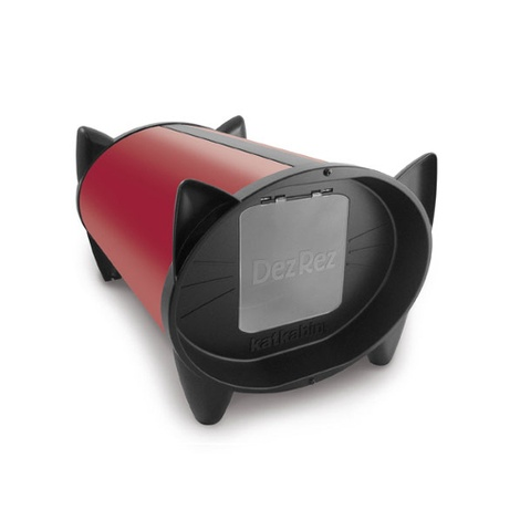 DezRez Outdoor Cat House - Starlet Red