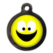 PS Pet Tags - Smiley Face Pet ID Tag