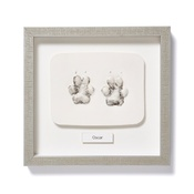 Pet Steps - Framed Personalised Paw Mould