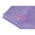 Personalised Lilac Bone Dog Blanket - Classic font 2