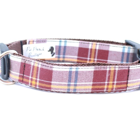 Acorn Barkberry Plaid Collar