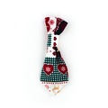 Reindeer Love Dog Tie 2