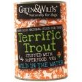 Six Pack of Terrific Trout Premium Dog Food