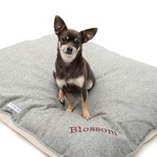 Mutts & Hounds - Herringbone Tweed Pillow Dog Bed