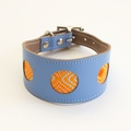 Sunset Blue Hound Collar