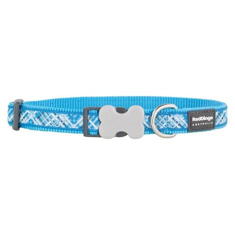 Flanno Dog Collar – Turquoise