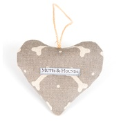Mutts & Hounds - Scented Heart - Mushroom