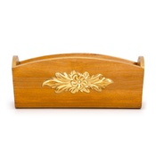 Katalin zu Windischgraetz - Classic Walnut & Gold Toy Box