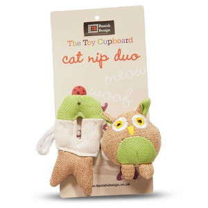 Fido & Fish Friends Catnip Duo