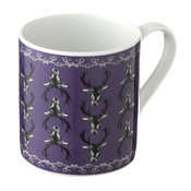 Lisa Bliss - Stag Mug in Purple