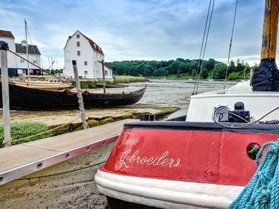 Woodfarm Barges - Twee Gebroeders, Suffolk, Woodbridge