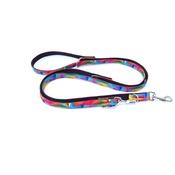 K9 CREW - K9CREW Rainbow Adjustable Lead (Rainbow)