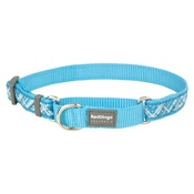 Red Dingo - Flanno Martingale Dog Collar – Turquoise