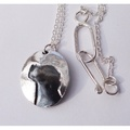Silver Jack Russell Cameo Necklace
