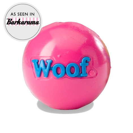 Woof Orbee Tuff Dog Ball - Pink