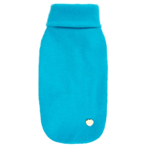 Light Blue Cashmere Dog Sweater