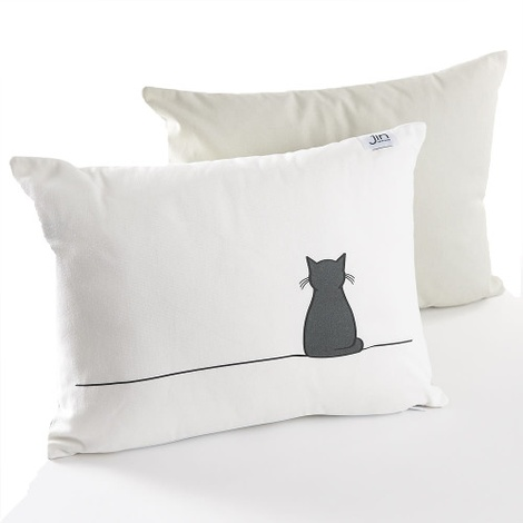 Sitting Cat Cushion