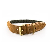 Ralph & Co - Rope collar (Braided) - Khaki