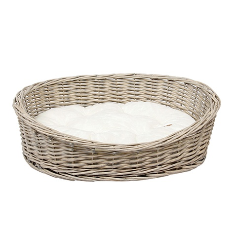 Oval Willow Pet Basket 2