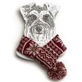 Snowflake Dog Scarf 4