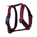 Maroon Wool Dog Harness
