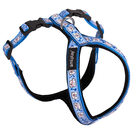 Ami Play Wink Grand Soft Harness - Blue