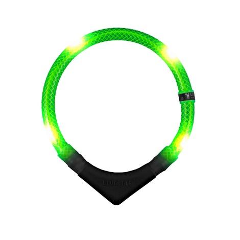 Premium Leuchtie LED Collar - Neon Green 5