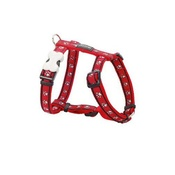 Pawprints Dog Harness - Red