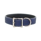 Auburn Leathercrafters - Tuscany Leather Dog Collar – Blue