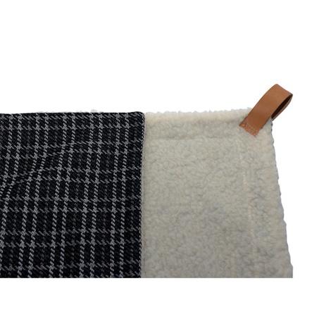 Dog Blanket - Fabric and sherpa wool - Ascot 2
