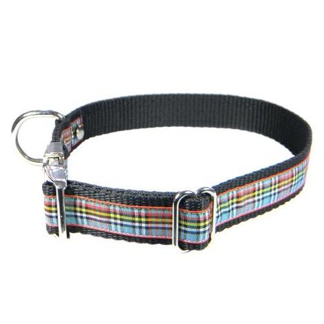 Scottish Anderson Tartan Dog Collar – Black 2