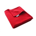 Double Fleece Dog Blanket - Red