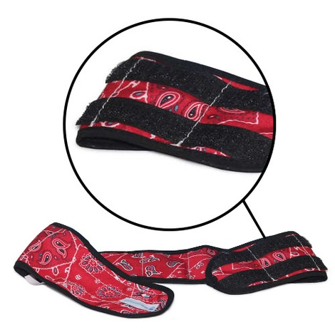 Dog Cooling Collar in Red Western 3