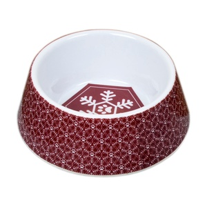 Festive Dog Feeding Bowl